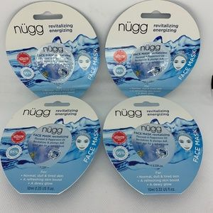 4 Pk Flaxseed & Peppermint Nugg Revitalizing Masks
